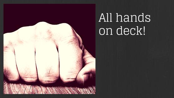 Banner Hands